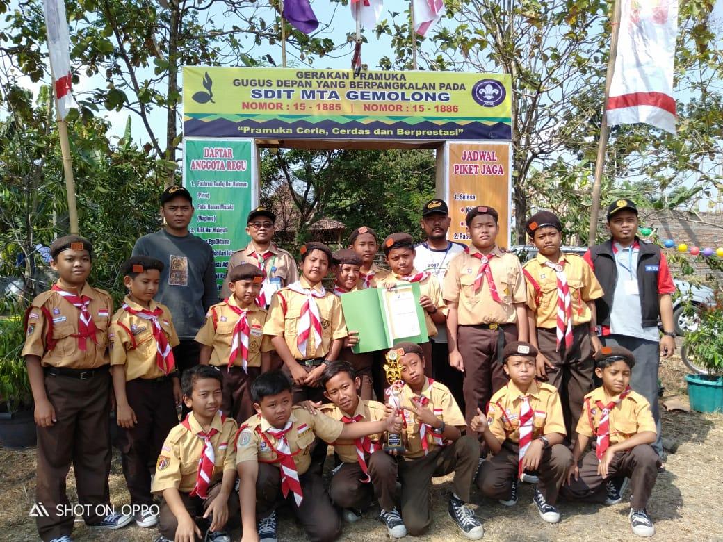 Juara 2 Pramuka Tahun 2019 Tingkat Kecamatan Gemolong