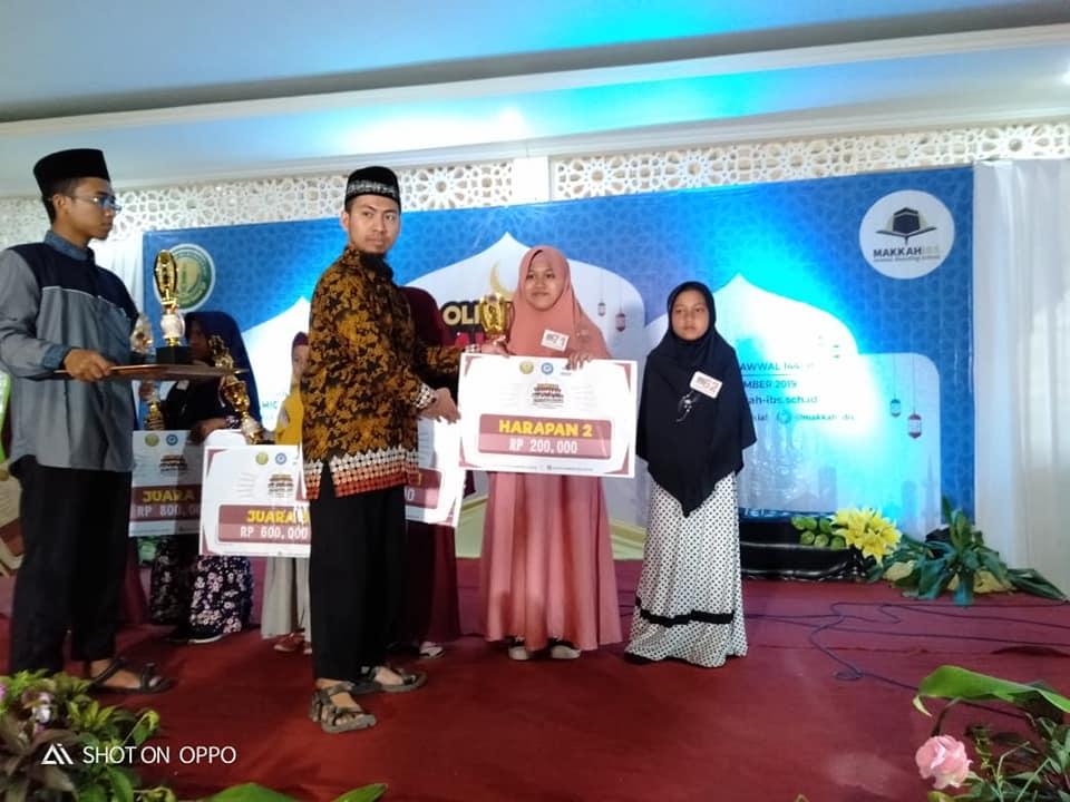 Juara Harapan 2 Lomba Tahfidz Nasional